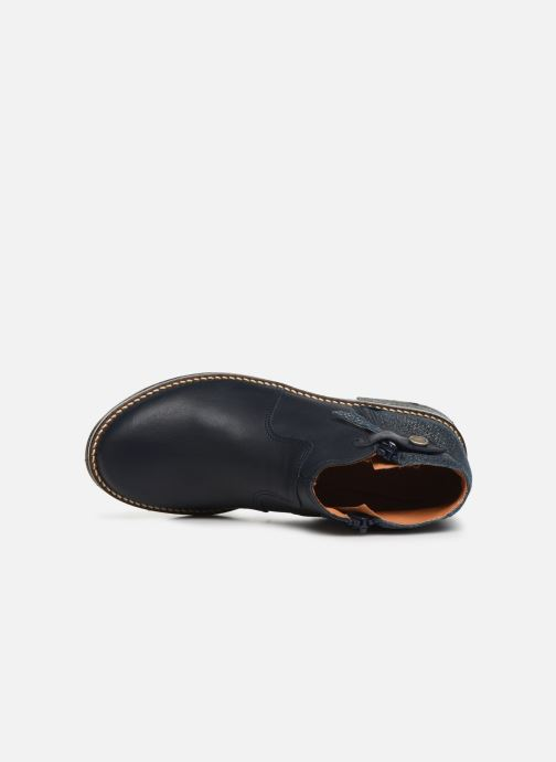 Bottines et boots Babybotte Kenza Bleu vue gauche