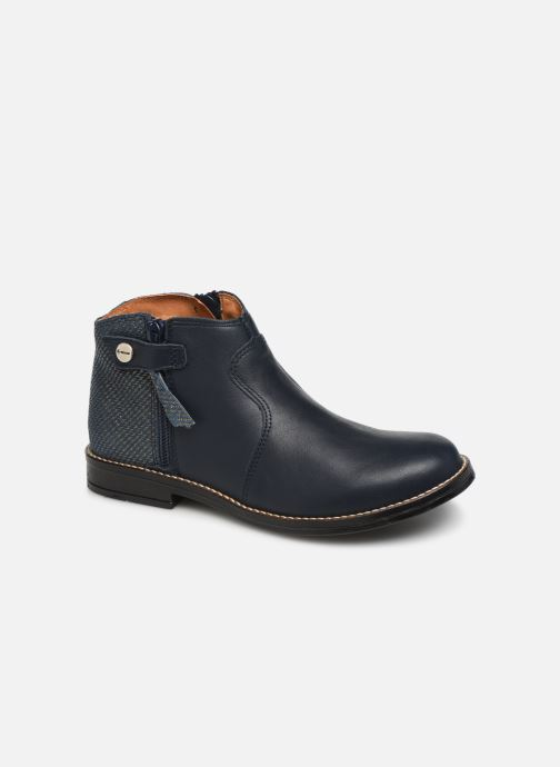 Ankle boots Babybotte Kenza Blue detailed view/ Pair view