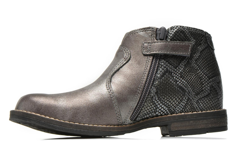 Bottines et boots Babybotte Kenza Gris vue face