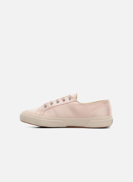 Baskets Superga 2750 Satin W Rose vue face