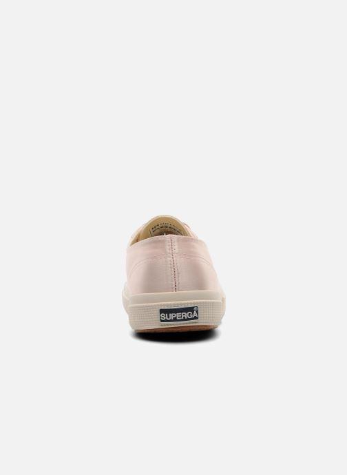 Sneakers Superga 2750 Satin W Rosa immagine destra