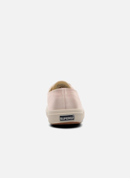 Baskets Superga 2750 Satin W Rose vue droite