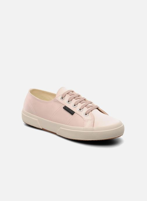 Baskets Superga 2750 Satin W Rose vue détail/paire