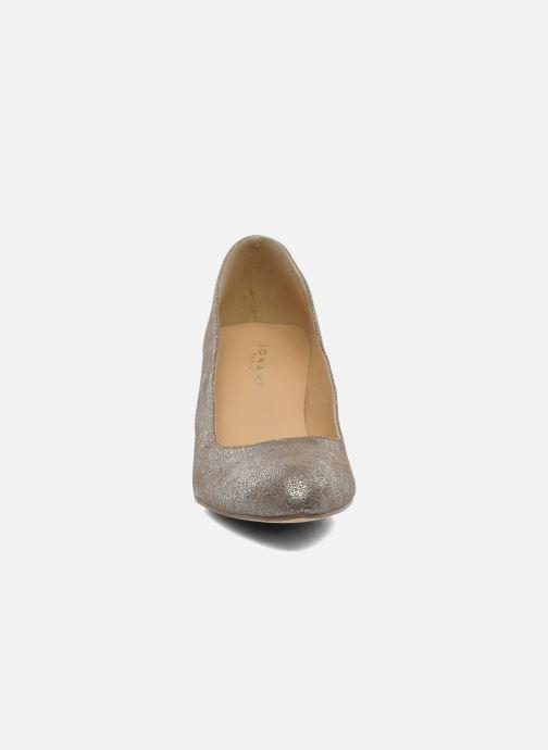 High heels Jonak Issine Bronze and Gold model view