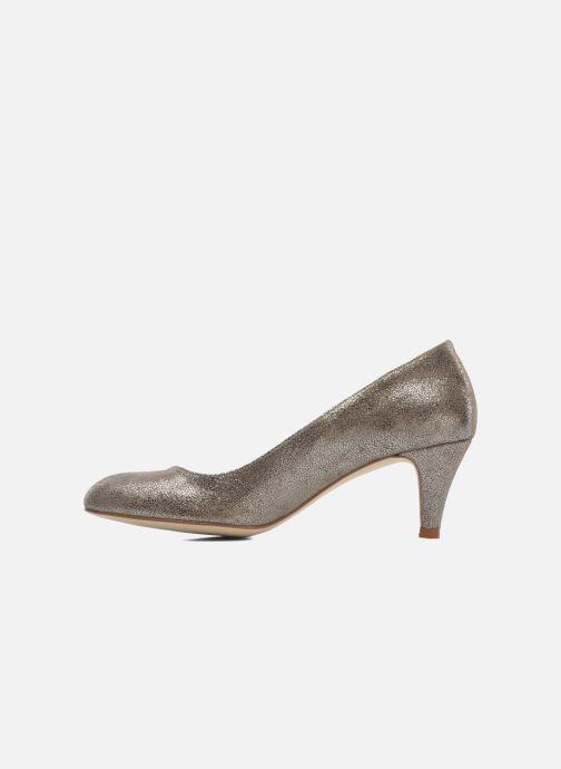 High heels Jonak Issine Bronze and Gold front view