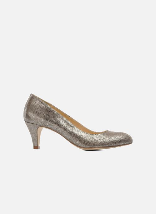 High heels Jonak Issine Bronze and Gold back view