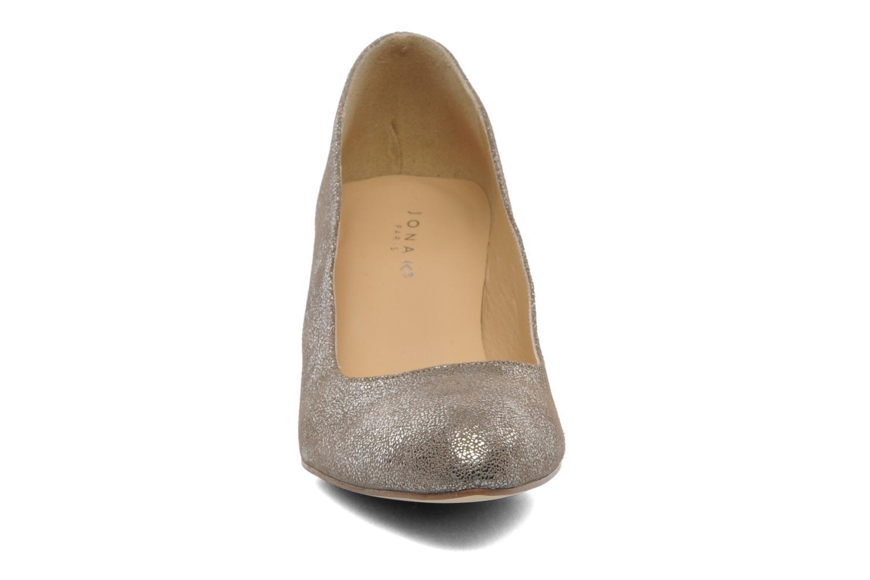 Escarpins Jonak Issine Or et bronze vue portées chaussures