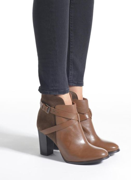 Ankle boots Jonak Drakos Black view from underneath / model view