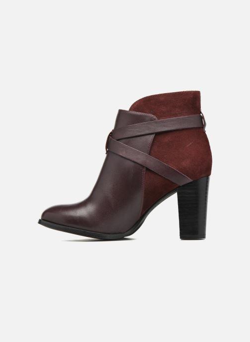 Bottines et boots Jonak Drakos Bordeaux vue face