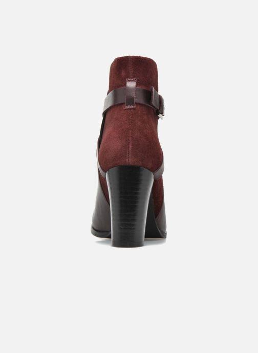 Bottines et boots Jonak Drakos Bordeaux vue droite