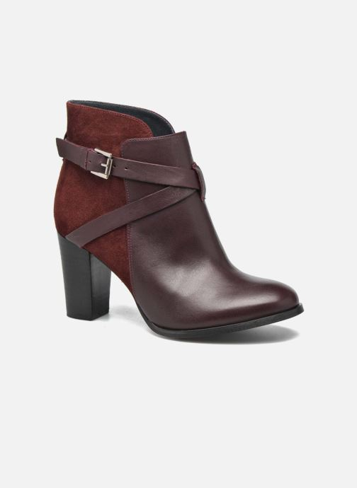 Bottines et boots Jonak Drakos Bordeaux vue détail/paire