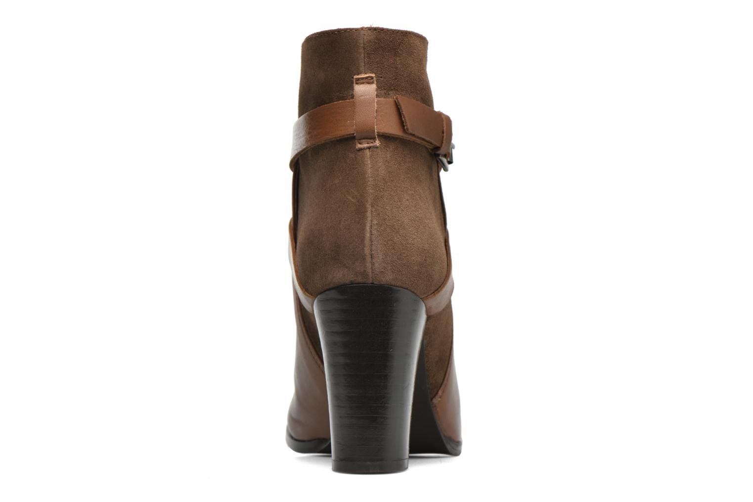 Ankle boots Jonak Drakos Brown view from the right