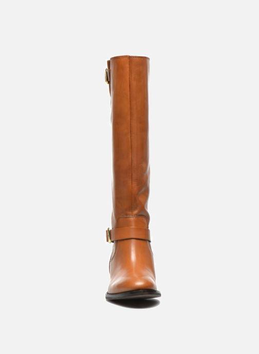 Bottes Jonak Quidam Marron vue portées chaussures