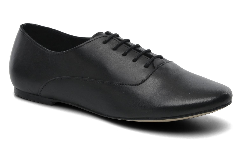 Chaussures à lacets Jonak Makadam Noir vue détail/paire