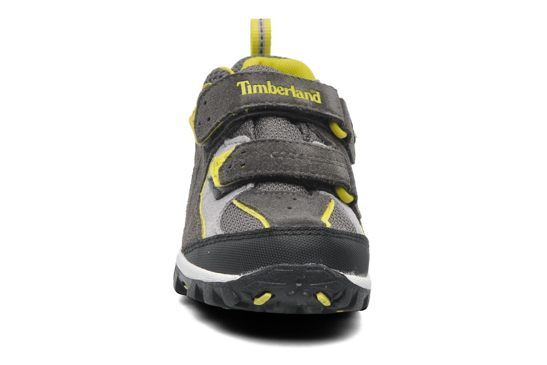 Sneaker Timberland Cranmore GTXH LOX grau schuhe getragen