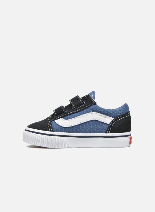 Sneaker Vans Old Skool V BB blau ansicht von vorne