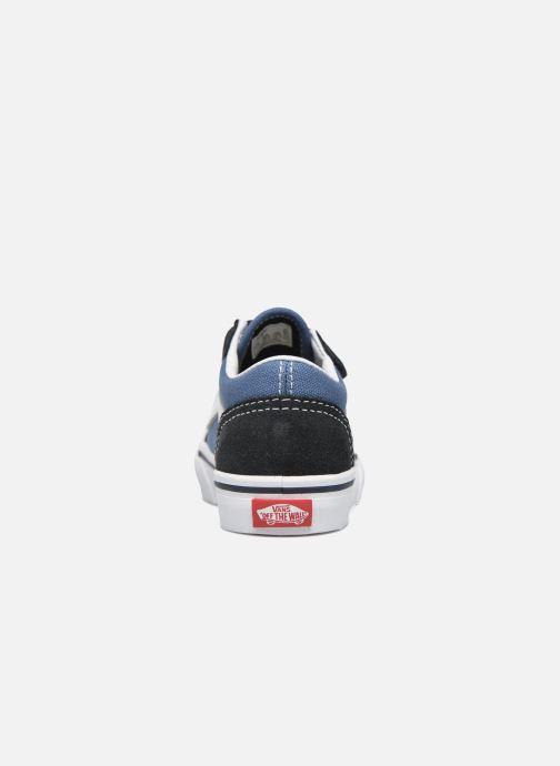 Sneaker Vans Old Skool V BB blau ansicht von rechts
