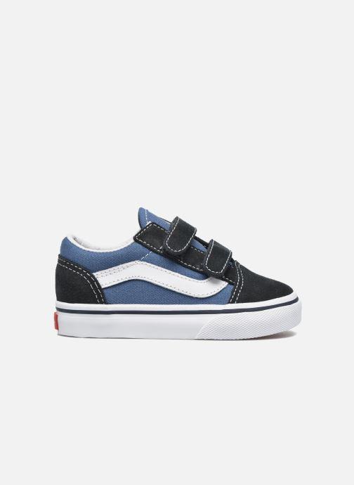 Sneaker Vans Old Skool V BB blau ansicht von hinten