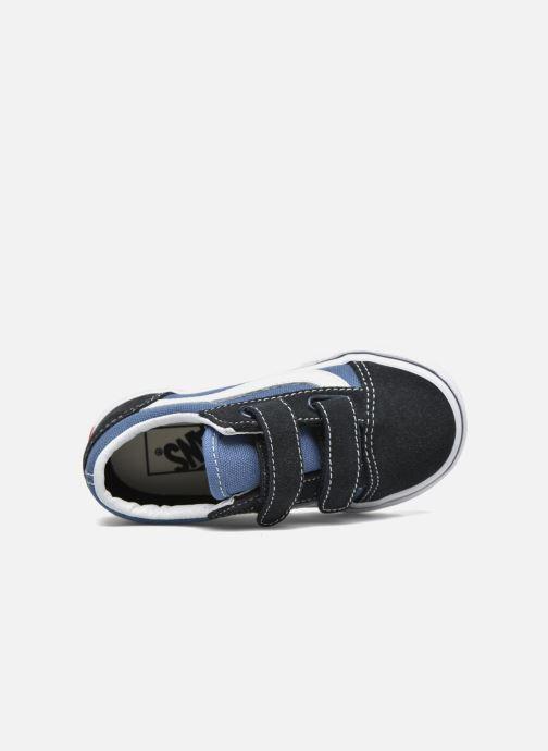 Sneakers Vans Old Skool V BB Blauw links