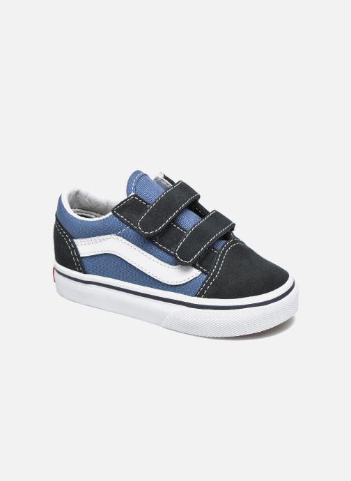 Sneakers Vans Old Skool V BB Blauw detail