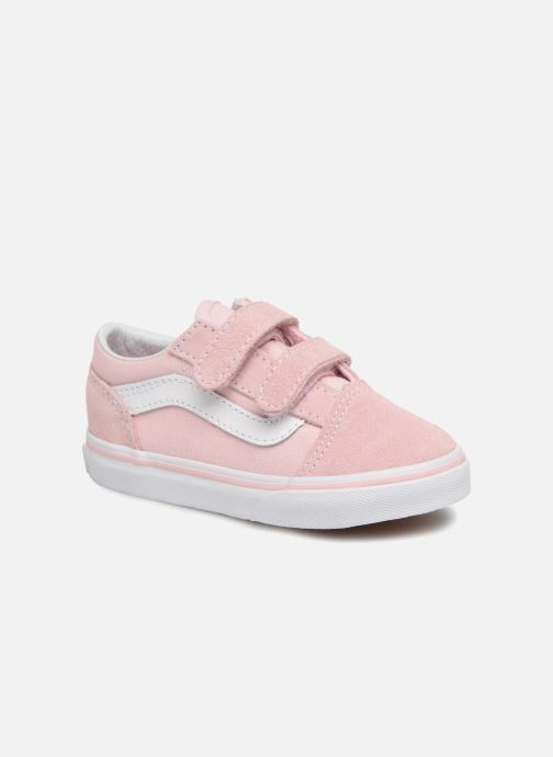 1e0cd178e7ea27 Vans Old Skool V BB (Pink) - Trainers chez Sarenza (314005)