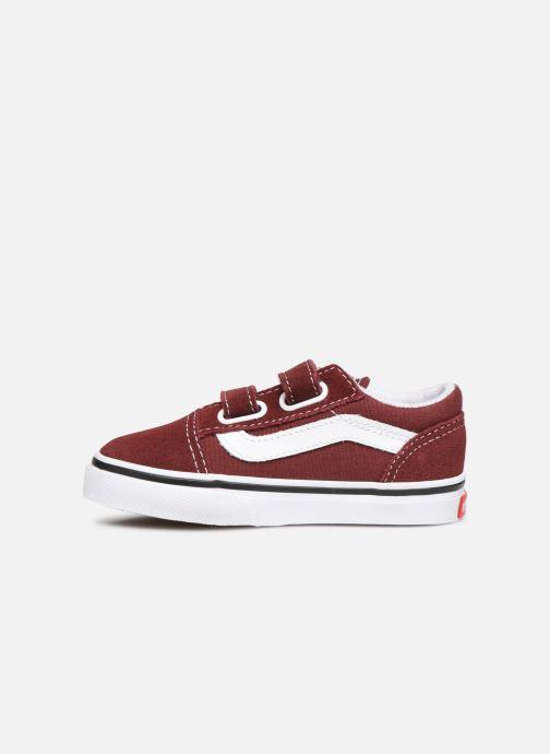 Sneakers Vans Old Skool V BB Bordò immagine frontale