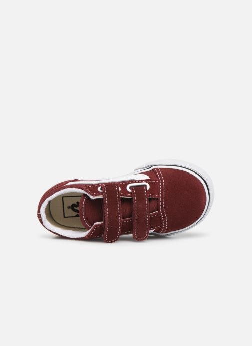 Sneakers Vans Old Skool V BB Bordò immagine sinistra