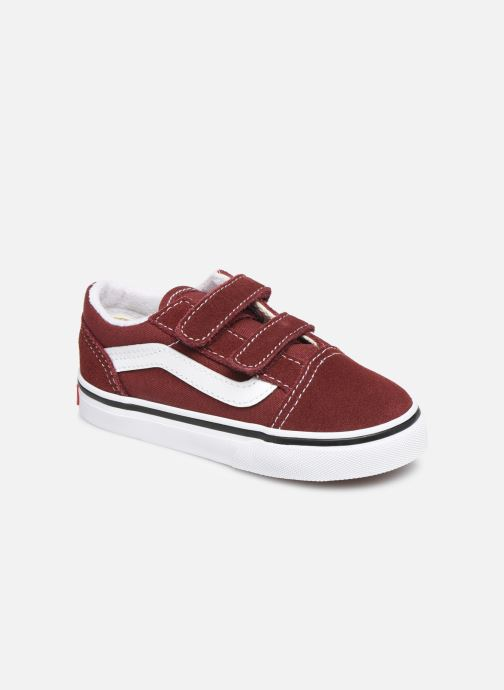 Vans Old Skool V BB (Bordeaux) - Baskets chez Sarenza (393690)