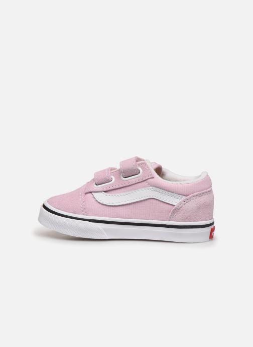 Sneakers Vans Old Skool V BB Roze voorkant
