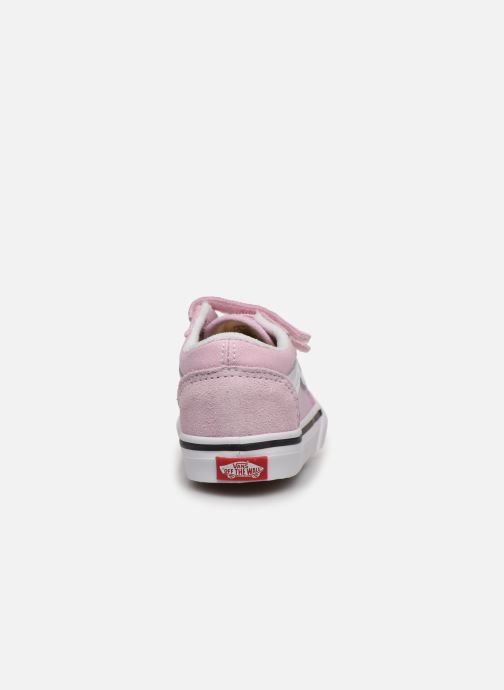 Baskets Vans Old Skool V BB Rose vue droite
