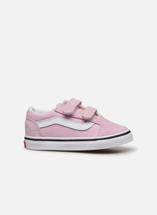 Baskets Vans Old Skool V BB Rose vue derrière