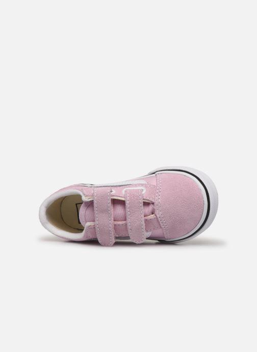 Sneakers Vans Old Skool V BB Roze links
