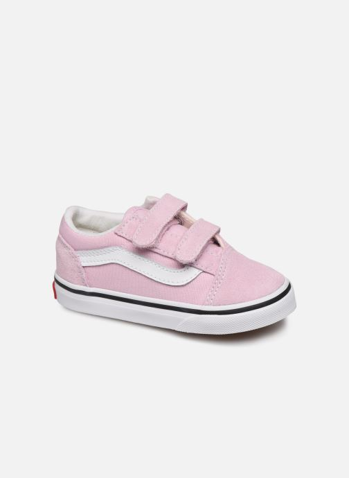 Baskets Vans Old Skool V BB Rose vue détail/paire