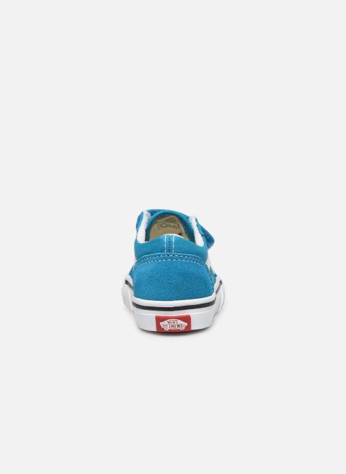 Baskets Vans Old Skool V BB Bleu vue droite