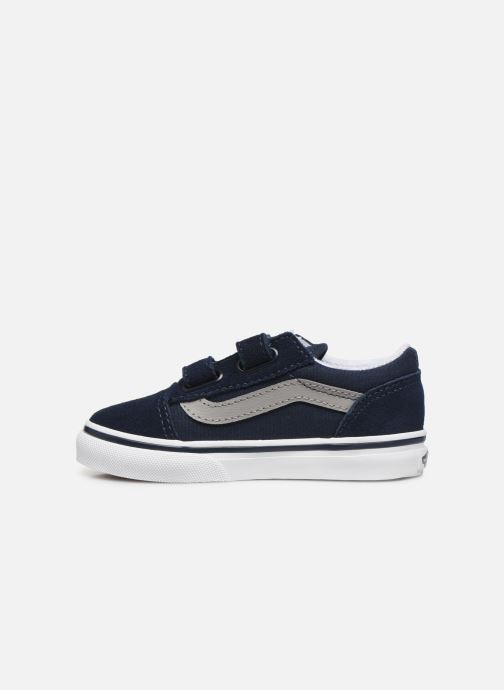 Baskets Vans Old Skool V BB Bleu vue face