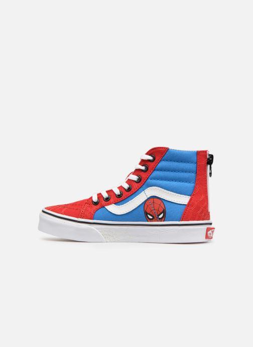 Sneaker Vans SK8-Hi Zip rot ansicht von vorne