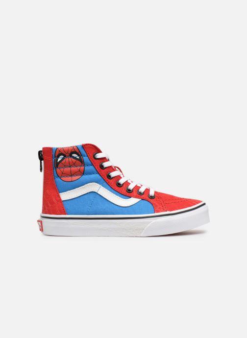 Sneaker Vans SK8-Hi Zip rot ansicht von hinten