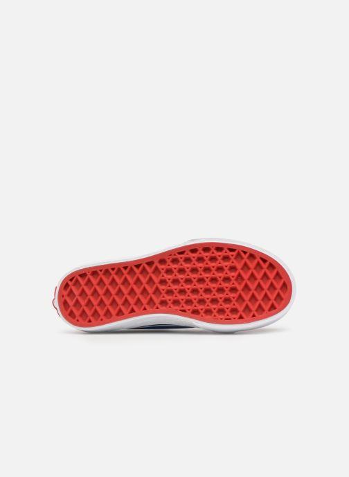 Baskets Vans SK8-Hi Zip Rouge vue haut