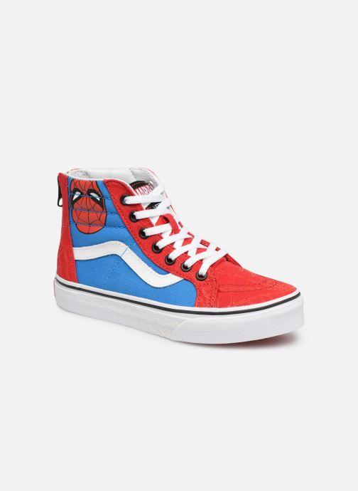 Sneaker Vans SK8-Hi Zip rot detaillierte ansicht/modell