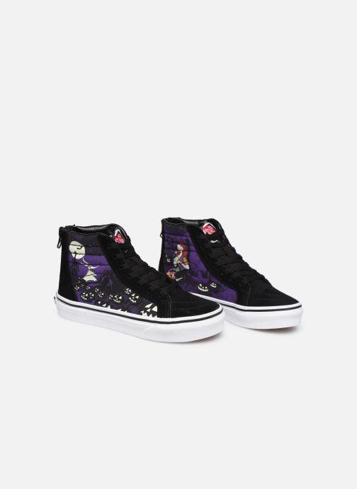 Sneakers Vans SK8-Hi Zip Nero immagine 3/4