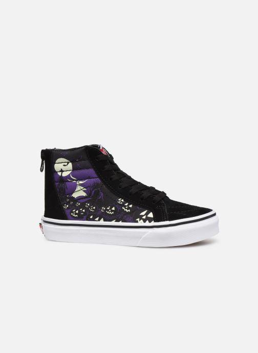 Sneaker Vans SK8-Hi Zip schwarz ansicht von hinten