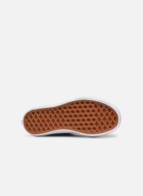 Sneaker Vans SK8-Hi Zip schwarz ansicht von oben