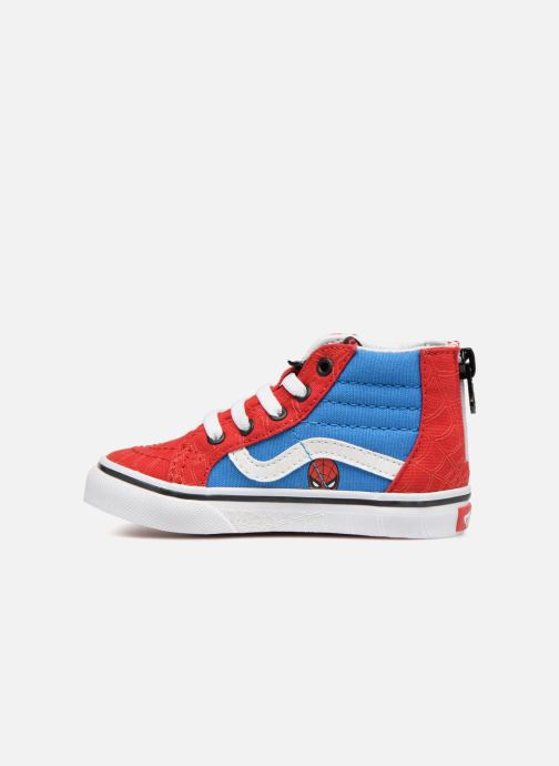 Baskets Vans SK8-Hi Zip BB Rouge vue face