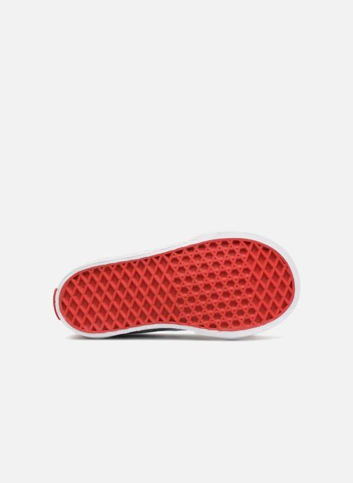 Baskets Vans SK8-Hi Zip BB Rouge vue haut