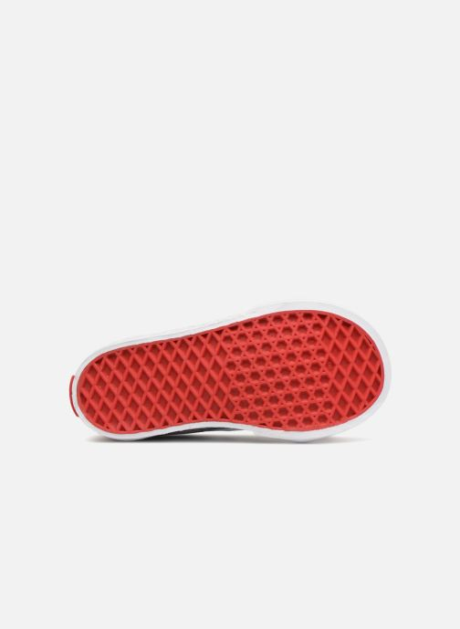 Trainers Vans SK8-Hi Zip BB Red view from above