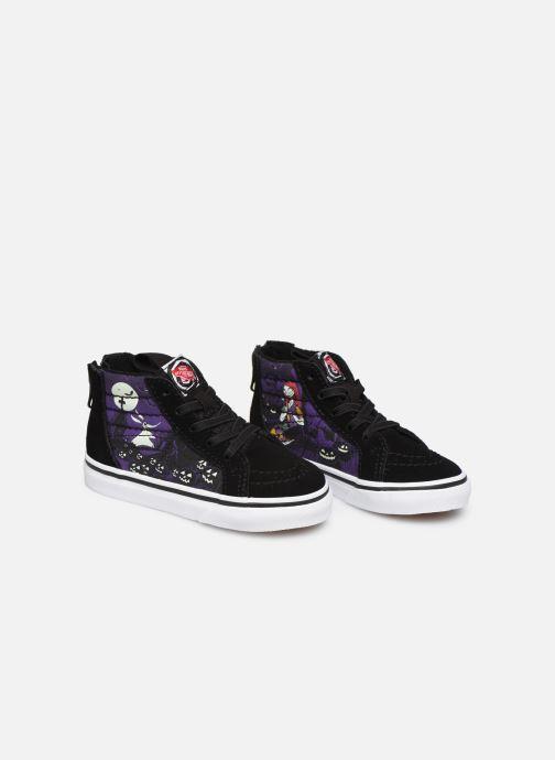 Sneakers Vans SK8-Hi Zip BB Zwart 3/4'
