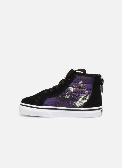 Sneakers Vans SK8-Hi Zip BB Zwart voorkant