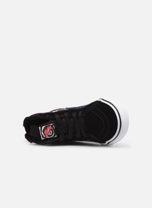 Sneakers Vans SK8-Hi Zip BB Zwart links