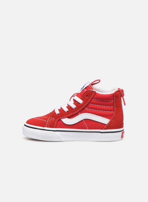 Sneakers Vans SK8-Hi Zip BB Rood voorkant