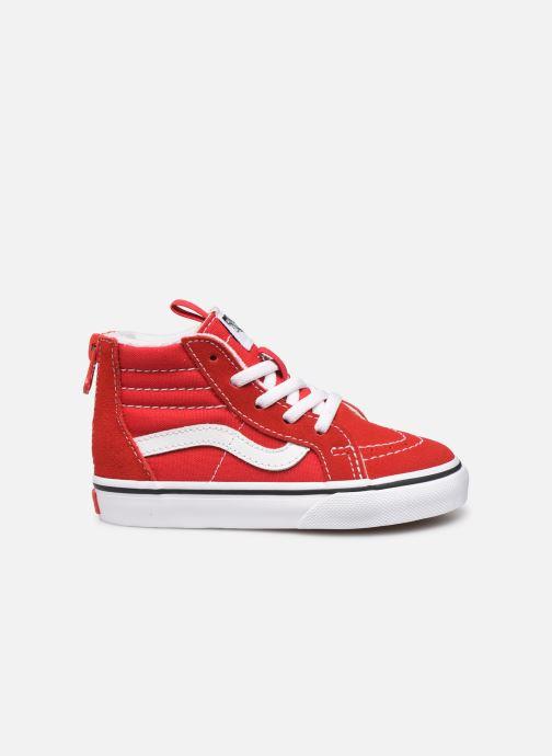 Baskets Vans SK8-Hi Zip BB Rouge vue derrière